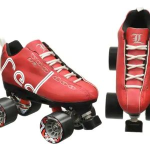 Red Voodoo U3 Skates without wheels sz 8